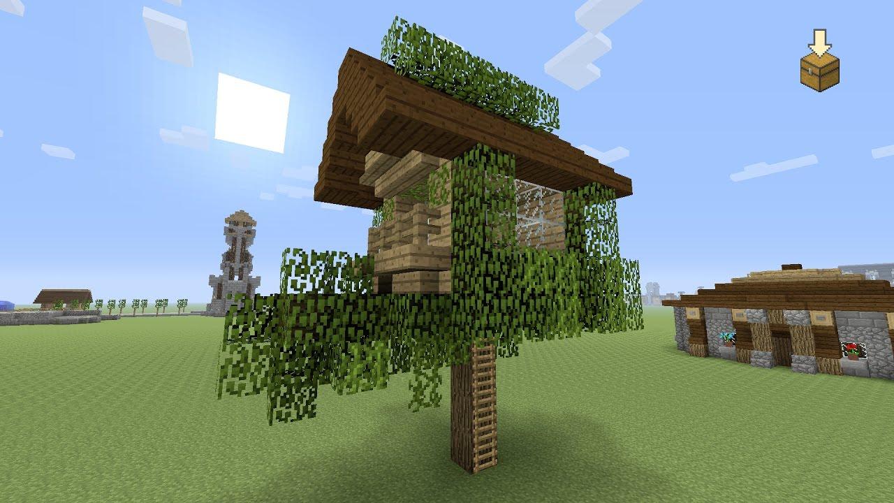 Geliefde Minecraft ☆ een Boomhut bouwen ☆ #25 - YouTube @UZ06