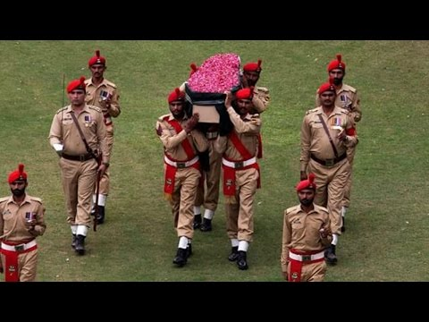 Abdul Sattar Edhi Funeral and Military Guard of Honour | Express News