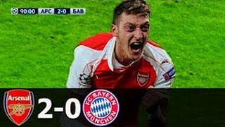Arsenal vs Bayern Munich - All Goals & Extended Highlights (UCL) 2015-16 HD 1080i