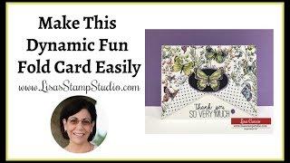 Make This Dynamic Fun Fold Card Easily