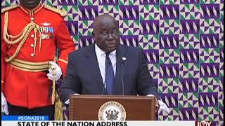 #SONA2019: State of the Nation Address 2019 - News Desk on JoyNews (21-2-19)
