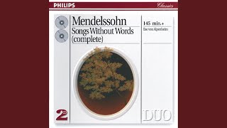"Mendelssohn: Lieder ohne Worte, Op.67 - No. 6. Allegro non troppo in E ""Cradle Song"""