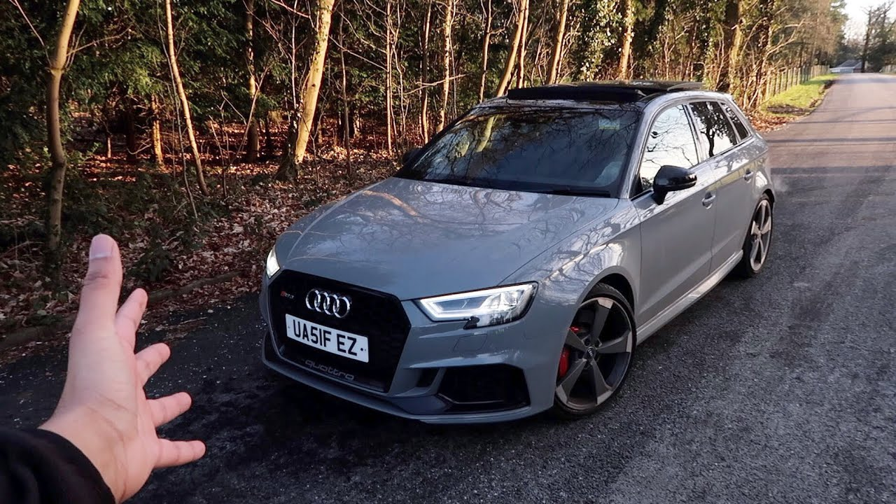 This 2018 Audi Rs3 Is Insanely Loud 510 Bhp