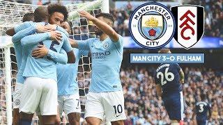 MAN CITY 3-0 FULHAM   Bernardo Silva Masterclass!