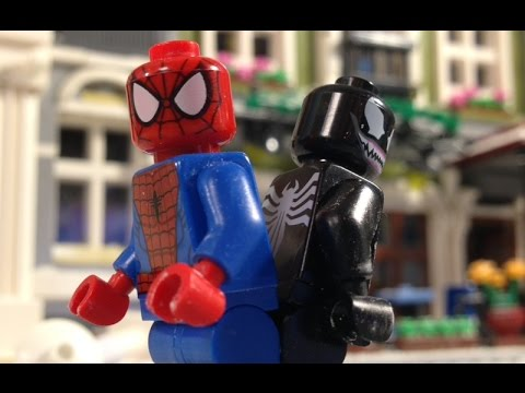 A LEGO Spider-Man Christmas
