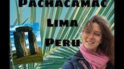 Aliens in Pachacamac Lima, Peru 2018