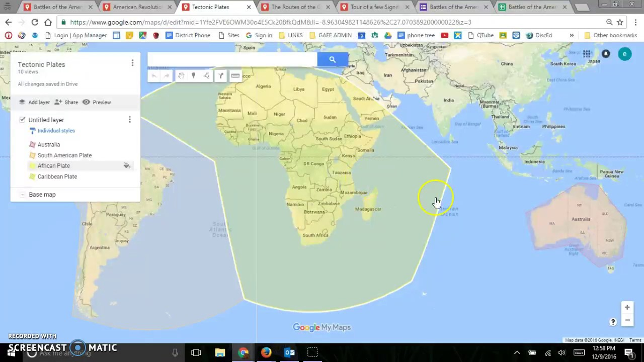 Google Maps - My Maps in the Classroom - YouTube