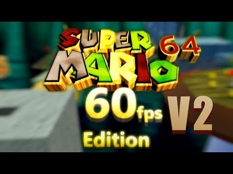 Here's Super Mario 64 Running At 60FPS In Widescreen HD