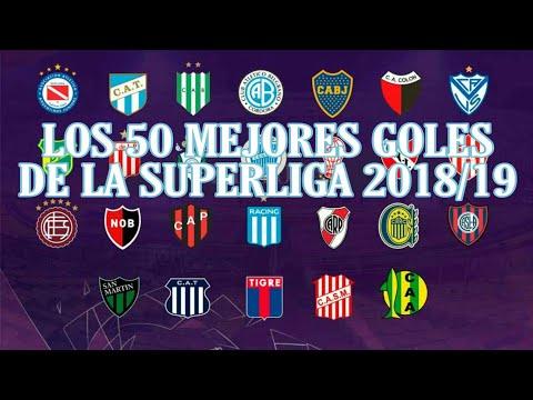 LOS 50 MEJORES GOLES DE LA SUPERLIGA 2018/2019