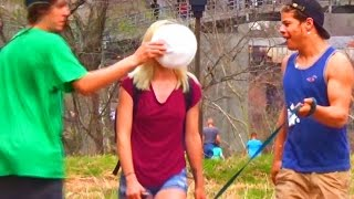 Pieing Girls In The Face Prank
