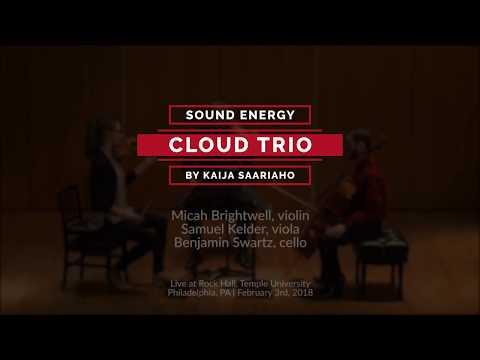 """Kaija Saariaho: """"Cloud Trio"""" (2009) performed live by Sound Energy"""