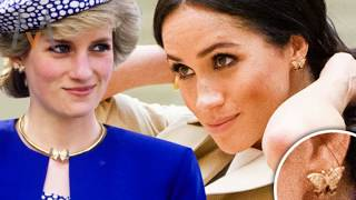 Every Piece Of Jewellery Meghan And Kate Have Inherited From Princess Diana