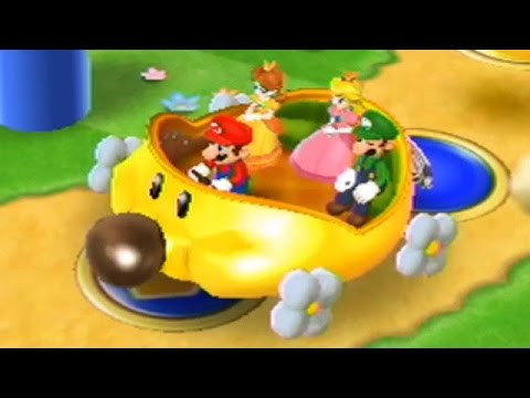 Mario Party 9 - Toad Road (Wiggler Wagon) - 2 Player Party Mode