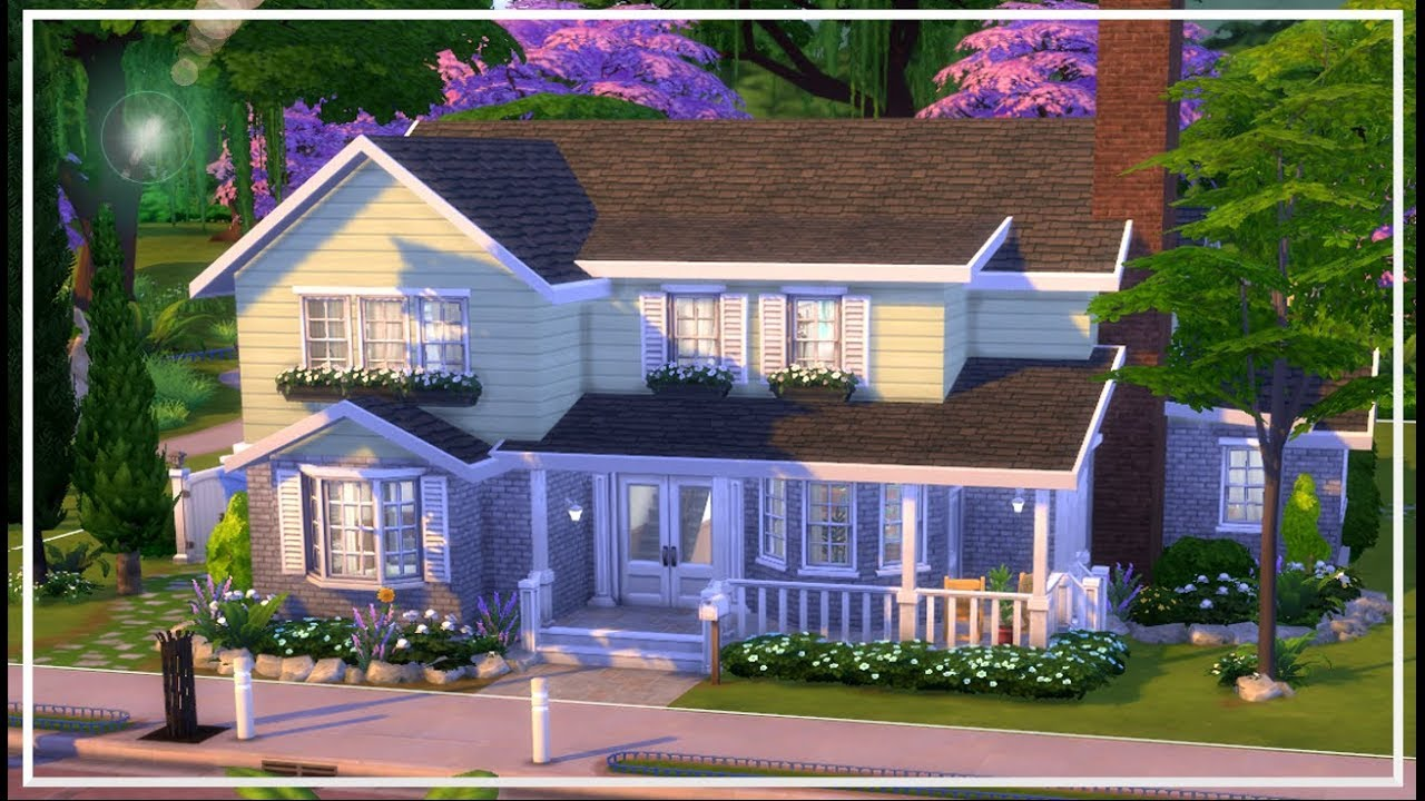 7 Bedroom Supreme Large Family Home The Sims 4 Speed Build Youtube