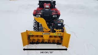 Rammy Snowblower 140 ATV