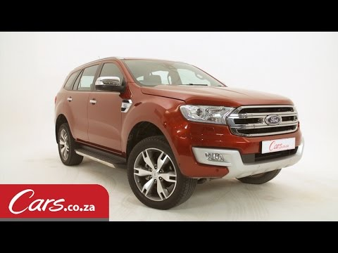 FIRST LOOK - 2016 Ford Everest Review, Interior, Exterior, Pricing