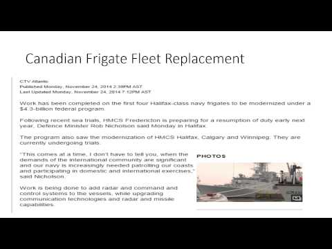 Government Policy - Canada Military Spending