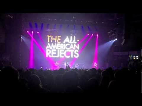 HD Blink 182 and The All American Rejects: Nottingham July 11th 2012