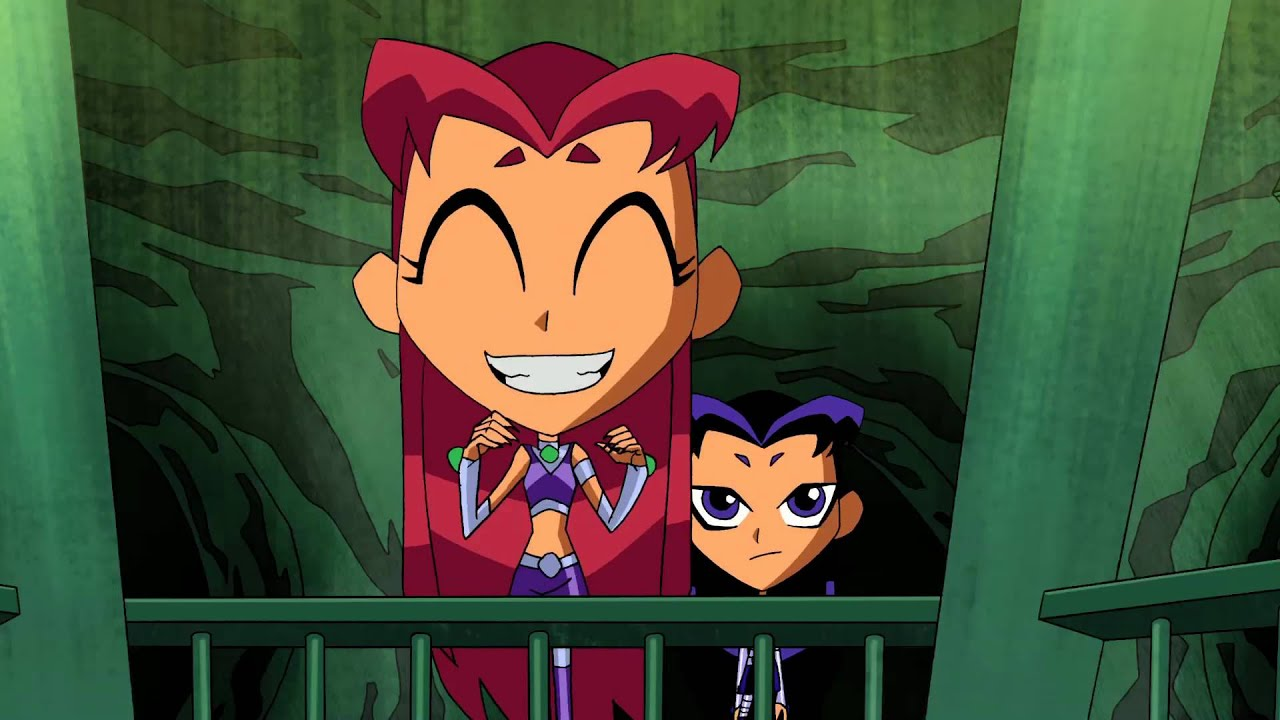 New Teen Titans Short Blackfires Babysitter - Youtube-7592