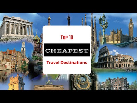 10 Cheapest Travel Vacation Destinations In The World (Holiday Spots)