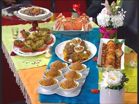 مأدبة برنامج الطبخ المغربي الحلقة 10
