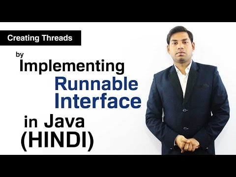 Creating Threads by Implementing Runnable Interface in Java (HINDI)