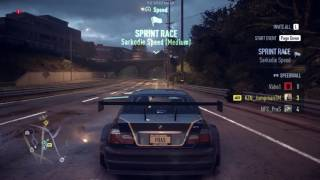Need For Speed 2015 Bmw M3 Gtr Gameplay Xbox One From Youtube The