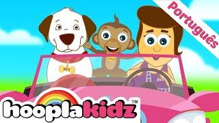 Música do Carro e Mais Músicas Para Crianças - HooplaKidz Brasil
