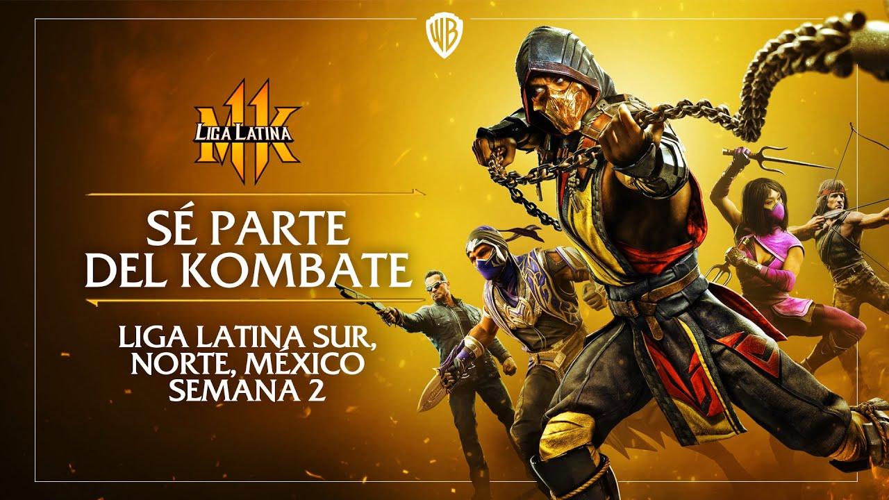 Pro Kompetition: #LigaLatinaMK11 Semana 2 ¡Únete al kombate!
