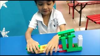 Observation on 3 years old kid in intellectual development and fine motor skills