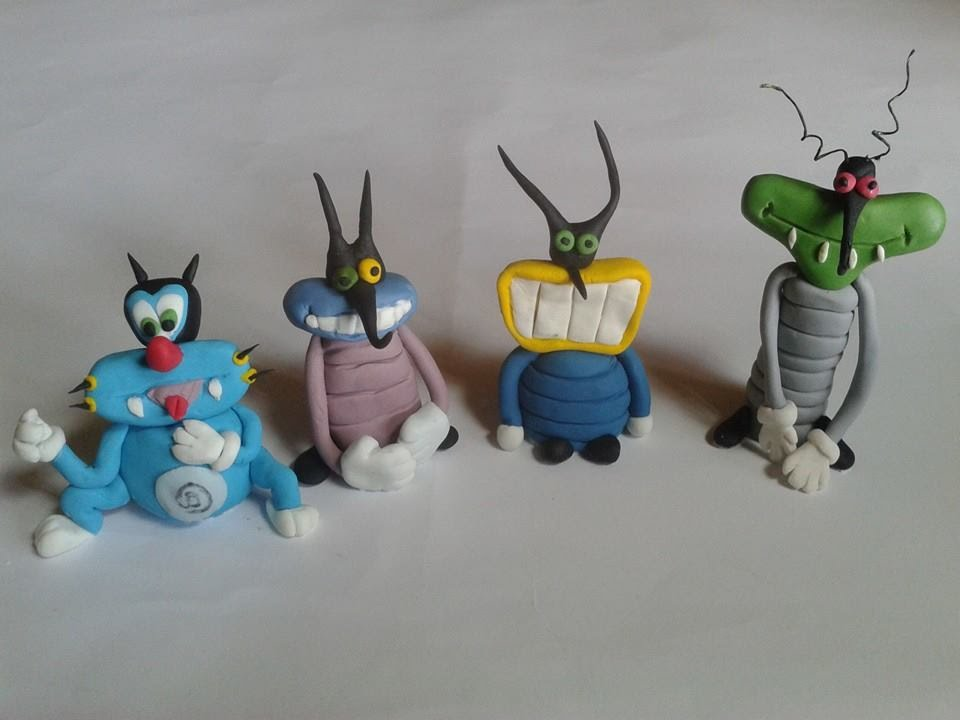 Eccezionale Oggy e i maledetti scarafaggi TUTORIAL SEMPLICE E VELOCE - YouTube SI27