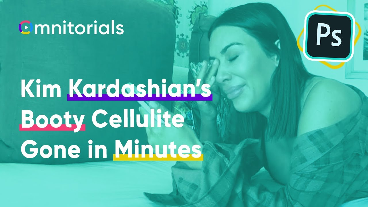 Watch Kim Kardashian's Booty Cellulite Disappear in 2 Minutes!