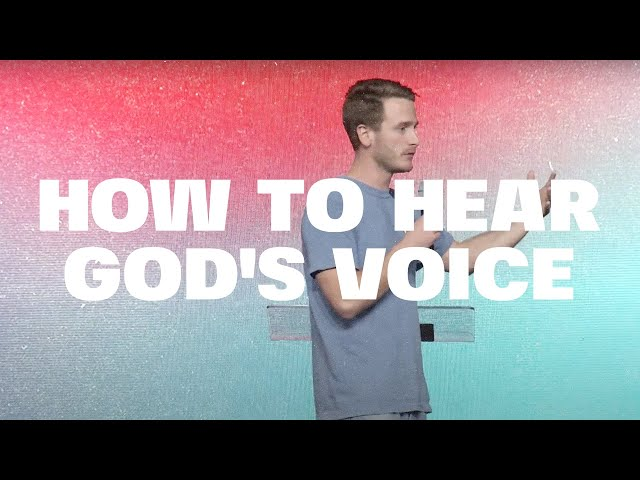 Voice of God: Week 1   Tanner Petty