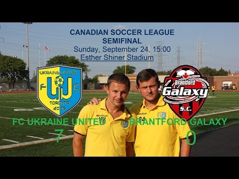 FC UKRAINE UNITED  vs   BRANTFORD GALAXY  7-0. Goals
