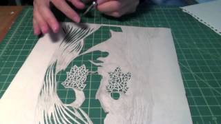 Paper Cut Process for