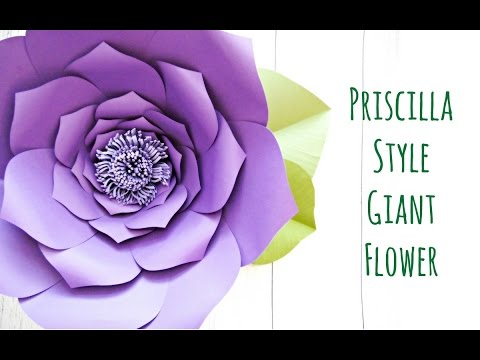Giant paper flower backdrop tutorial youtube giant paper flower backdrop tutorial mightylinksfo