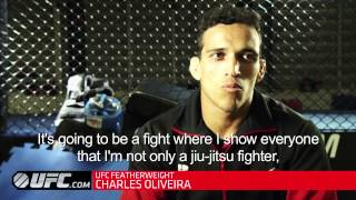 UFC 162: Charles Oliveira Pre-Fight Interview