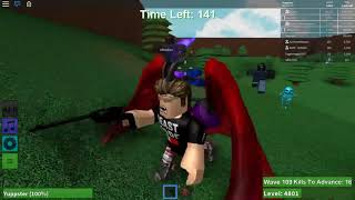 Roblox | Zombie Rush | Messing About | Wave 169 :P