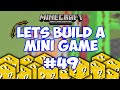 Minecraft Xbox - Lets Build A Mini Game World - 49 - LUCKY BUTTONS!!