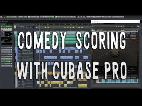 Comedy Film Scoring with Cubase Pro (VST breakdown)