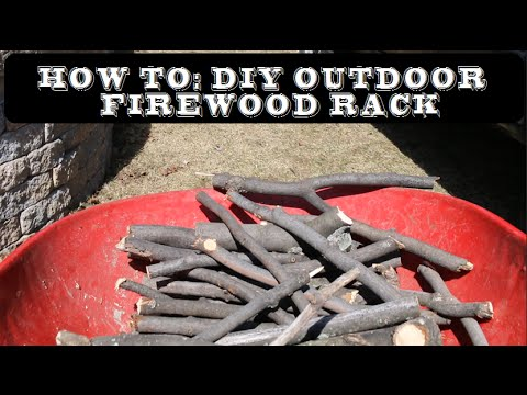 How to: DIY Outdoor Firewood Rack Intro | GOT2LEARN