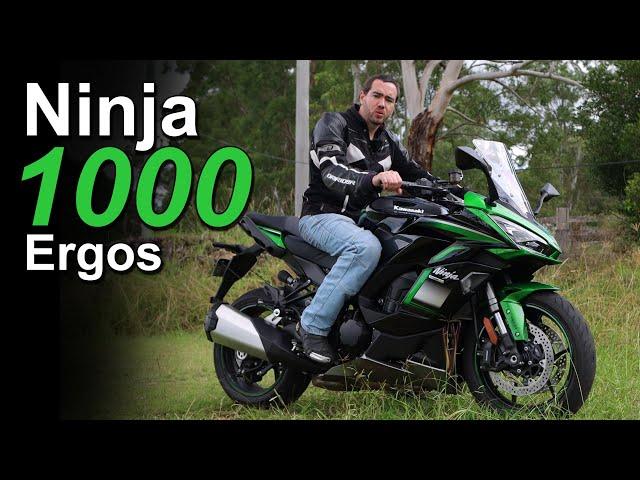 2021 Kawasaki Ninja 1000 SX Ergonomics and Rider Fit