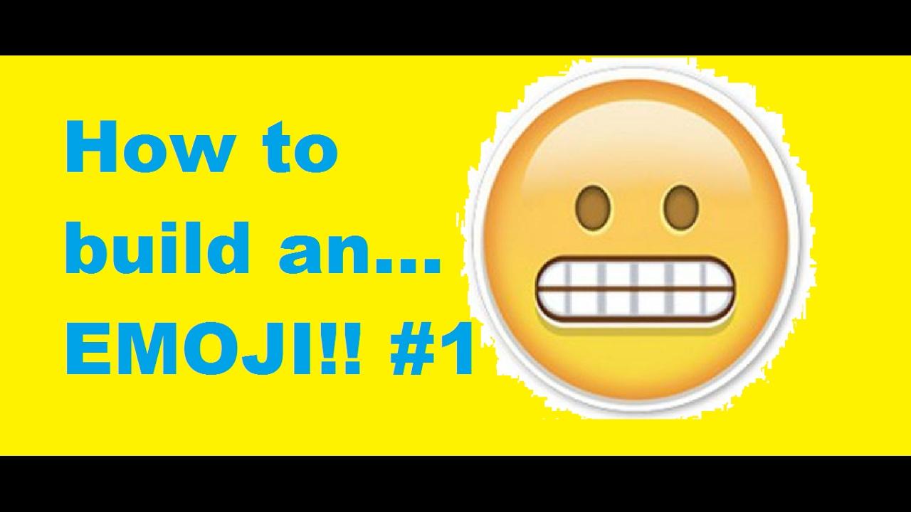 how to make emoji art