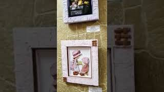 """Выставка """"Объемные картины, выполненные в технике папертоль"""" в ГБУК г. Москвы """"Клуб """"Ладога""""."""