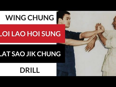 Bruce Lee's JKD Trapping Drill - Hand Immobilization Attacks LOI LAO HOI SUNG
