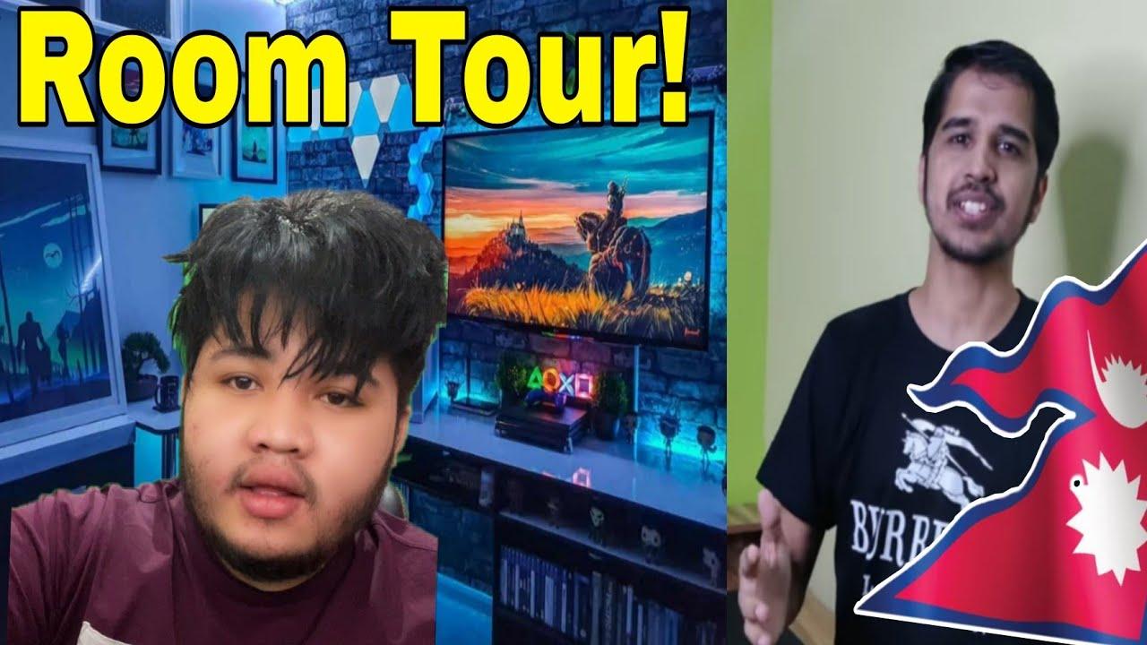 Desi Gamer Standing For Nepal||2b Gamer Room Tour.