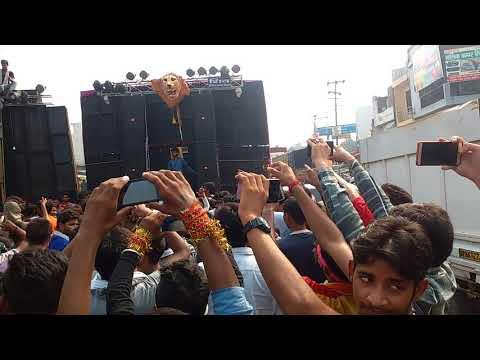 Suraj bhan dj and shiv dj bulandshar sound compitition in sikandrabad