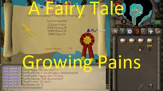 OSRS Quests - Fairy Tale Growing Pains