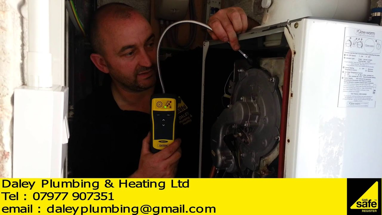 GLOW WORM 30CXI REPAIR LEEDS - YouTube