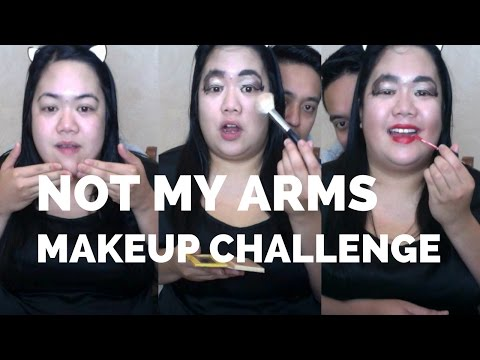 NOT MY ARMS CHALLENGE WITH HUBBY